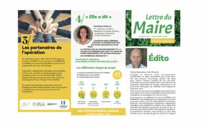 Septembre 2020 – Lettre du Maire