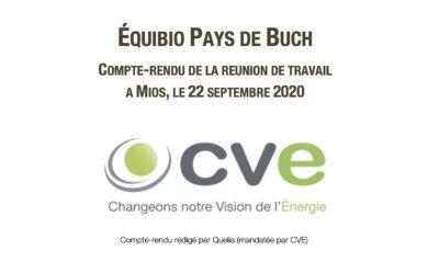 Septembre 2020 – Réunion de travail